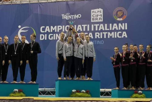 Ginnastica ritmica, l'Aurora Fano concede il bis: è ancora campione d'Italia