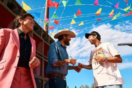 Il ranch di Valentino Rossi è diventato il set del video musicale di Jovanotti e Morandi
