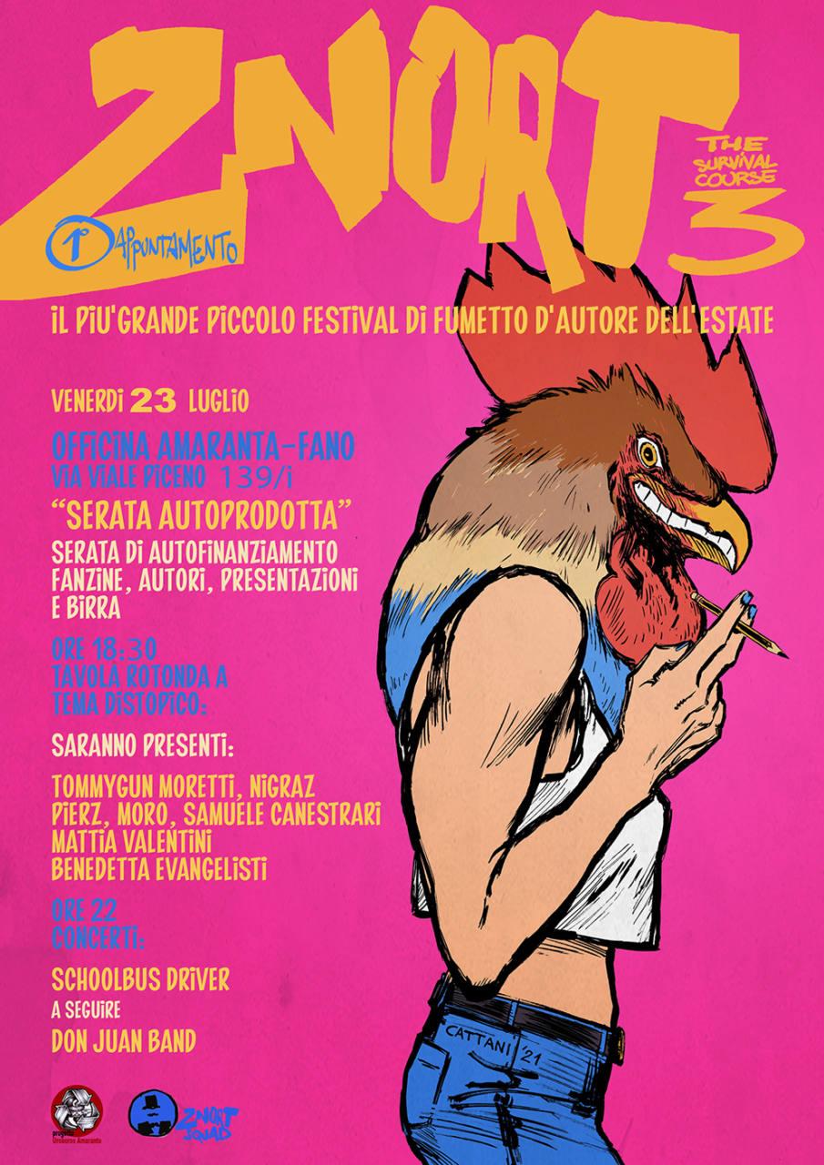 Torna lo 'Znort', il festival fanese del fumetto