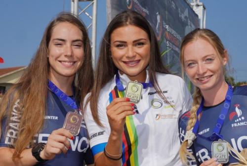La senigalliese Linda Rossi regina d'Europa: 2 Ori e 4 bronzi nel Campionato Europeo in Portogallo