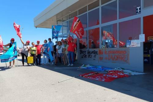 Pesaro: area di servizio Metauro Ovest, altro sciopero per le ferie e il contratto integrativo