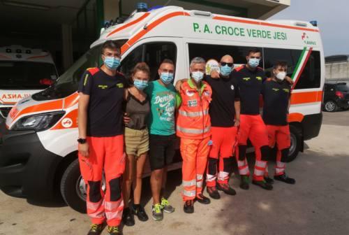 Jesi, una nuova ambulanza per la Croce Verde