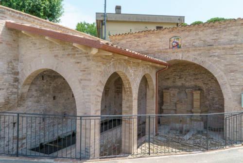Art bonus: recuperate dal degrado le antiche fonti e il lavatoio a Serra de' Conti