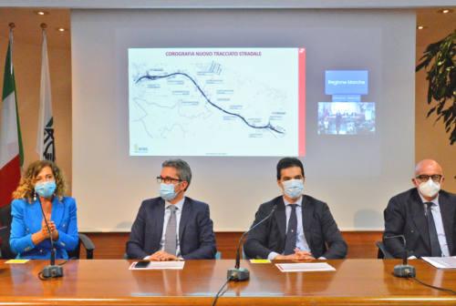 Falconara-Torrette, via ai lavori per il raddoppio SS16. Acquaroli: «Il cantiere più importante degli ultimi 30 anni»