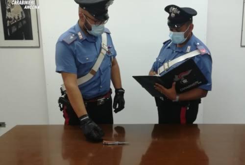 Castelfidardo, minaccia una donna con il coltello e si dà alla fuga: arrestato