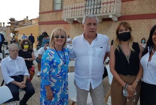 Castelfidardo accoglie la terza candidata a sindaco Gabriella Turchetti