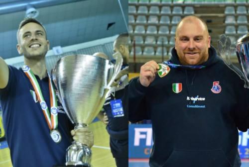L'Italservice Pesaro saluta il viceallenatore Juanba Crespo e il Direttore Marco Troilo