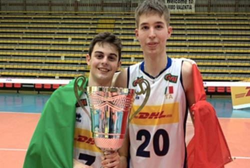 Volley giovanile: i talenti della Lube reduci dal 4' posto agli Europei U17