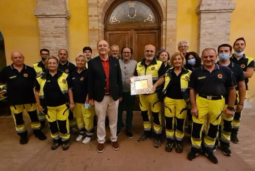 Morrovalle, in prima linea contro le emergenze: il ringraziamento del sindaco alla Protezione civile