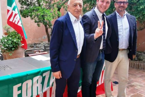 Fabriano, Andrea Rossi è il nuovo coordinatore cittadino di Forza Italia