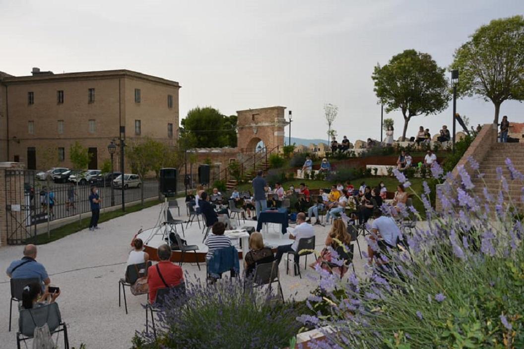 Il primo evento all'aperto quest'anno al parco della Rimembranza di Loreto