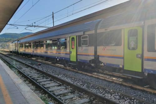 Tratta ferroviaria Fabriano-Civitanova, si è tornati a viaggiare in treno