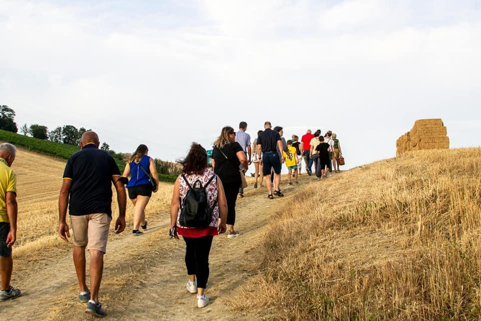 I turisti a Montetorto di Osimo