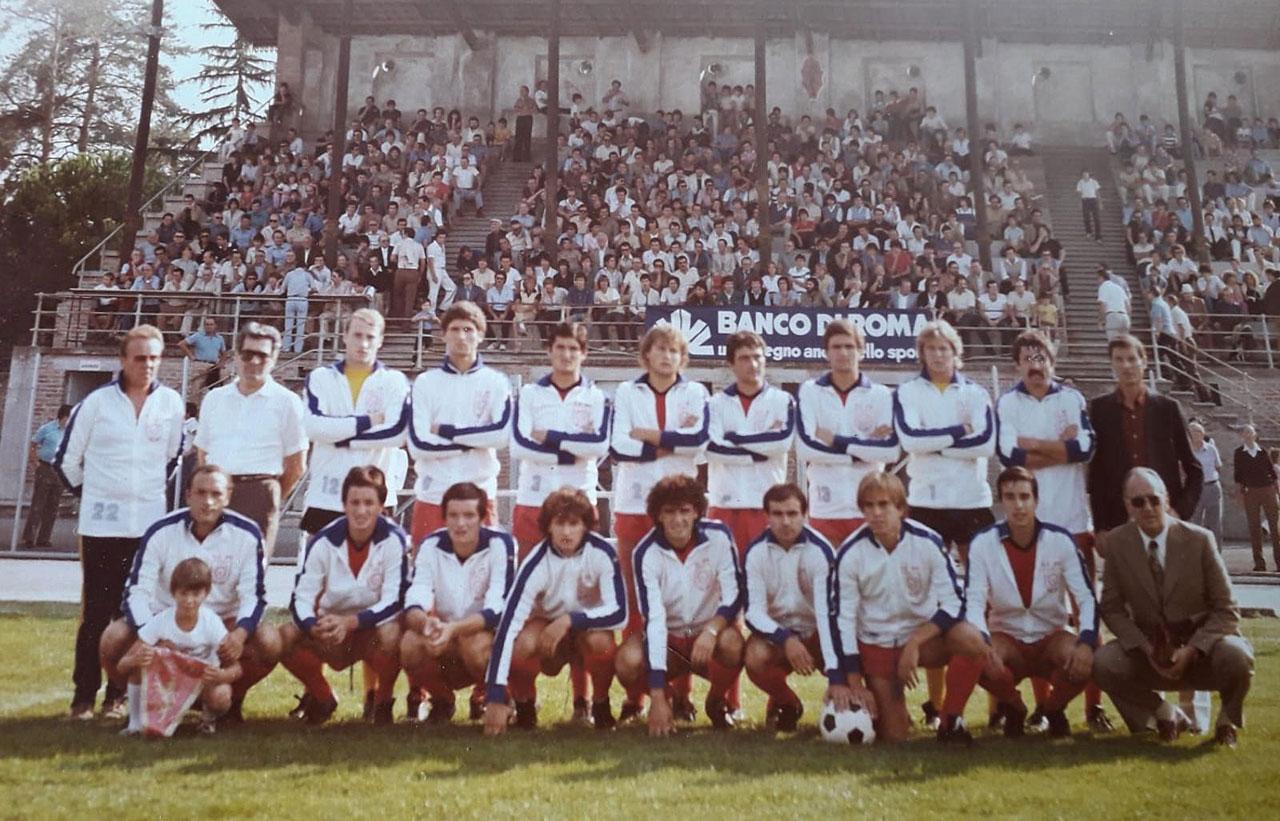Una formazione della Jesina 1980-81