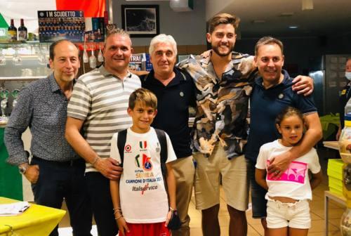 Italservice Pesaro, ecco Espindola: il nuovo portiere è in città e ha cenato con la dirigenza