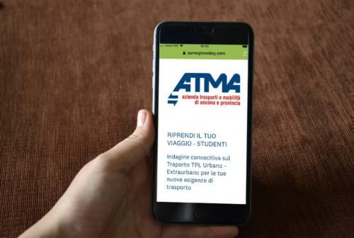 Trasporto pubblico, l'Atma lancia due questionari per passeggeri e studenti dell'Anconetano