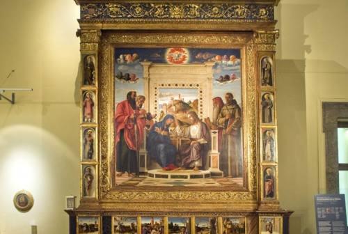 Al via il restauro della pala del Bellini, tesoro dei Musei Civici di Pesaro