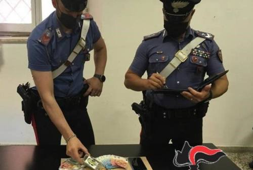 Jesi: pusher 18enne arrestato dai Carabinieri. Aveva un etto di hashish