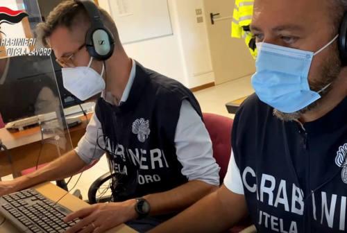 Sant'Angelo in Vado, 9 lavoratori su 11 in nero in un laboratorio tessile cinese: chiusura e maxi multa