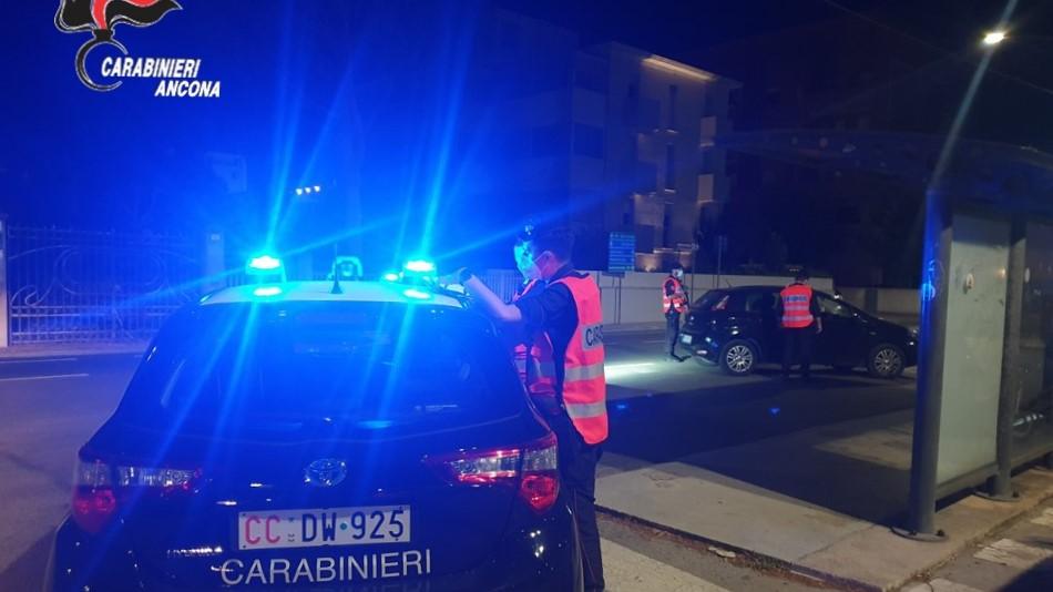 I controlli dei carabinieri della compagnia di Senigallia
