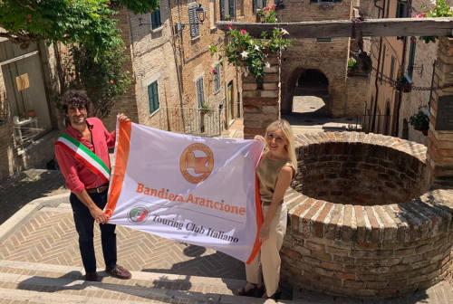 Corinaldo confermata ancora bandiera arancione dal Touring club italiano