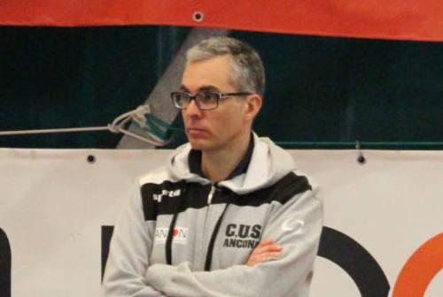 Alessandro Vinci confermato nello staff tecnico del Cus Ancona C5