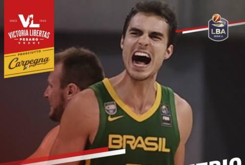 Basket, la VL Pesaro pesca ancora in Brasile. Preso Leonardo Demetrio