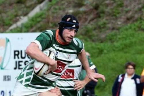Rugby Jesi '70, la grinta di Federico Sandroni: «Tornare al 100%!»