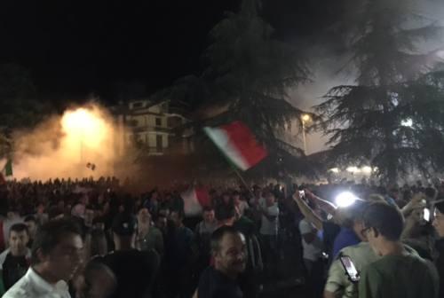 Europei, nelle Marche esplode la gioia di Palazzo Raffaello. Acquaroli: «Grazie ragazzi!»