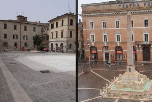 Jesi, fontana dei Leoni: trasferimento completato. Ora la conferma del lascito