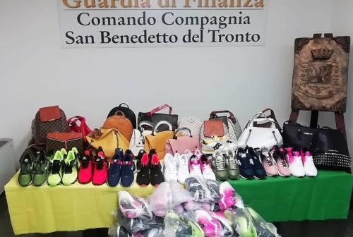 San Benedetto, doppio blitz delle Fiamme Gialle contro l'abusivismo commerciale: sequestri e sanzioni