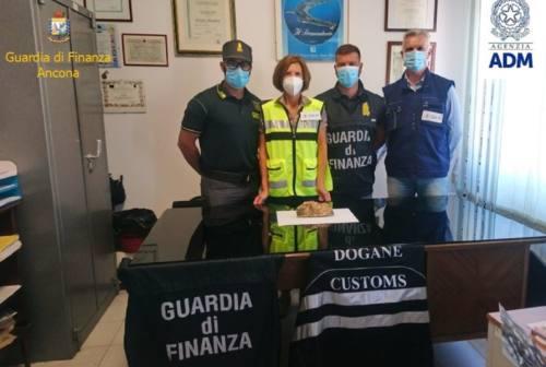 Due chili d'oro nei bagagli: Guardia di Finanza e Dogana stoppano svizzero in partenza dal porto di Ancona