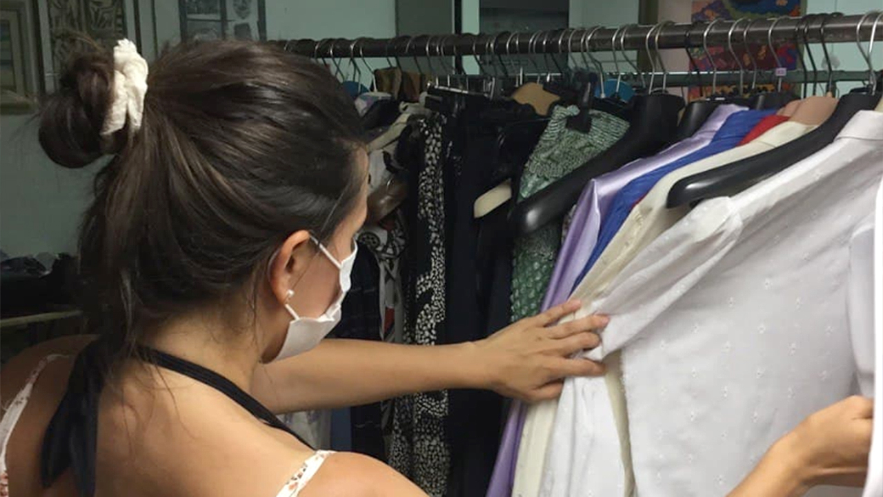 L'odv Brigate Volontarie per l'Emergenza Marche si è dedicata anche alla raccolta e distribuzione di indumenti e vestiti