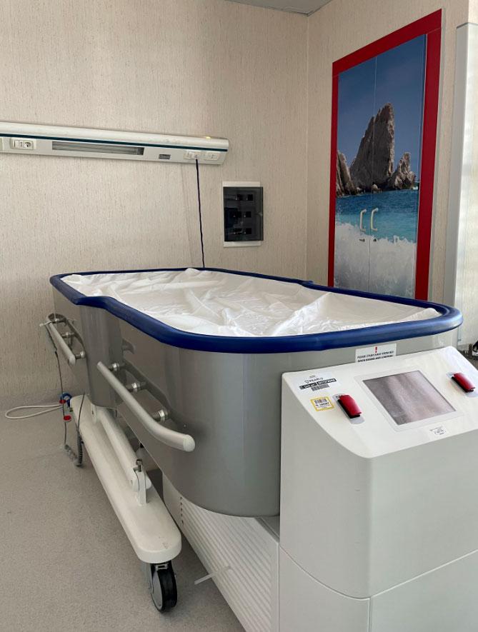 letto fluidizzato donato a Torrette