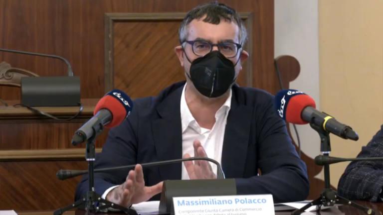 """L'intervento di Massimiliano Polacco all'iniziativa """"Come In - La porta del digitale"""" a Senigallia"""