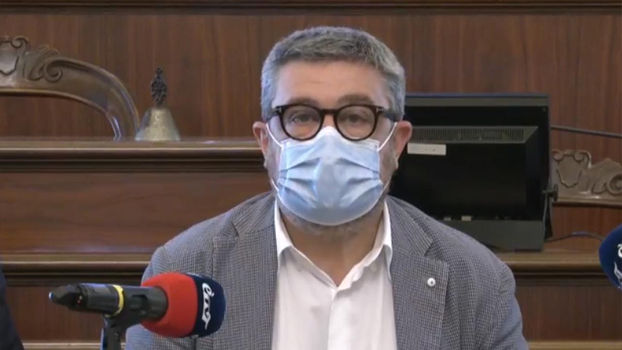 """Il sindaco Massimo Olivetti all'iniziativa """"Come In - La porta del digitale"""" a Senigallia"""