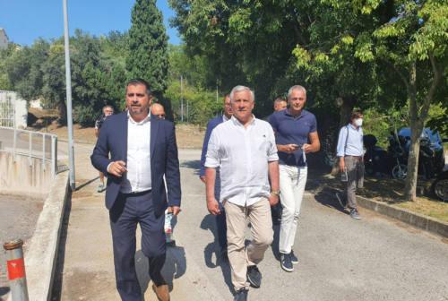 Green pass, Tajani a Sirolo: «Favorevole per i grandi eventi». Riforma giustizia: «Maxi-emendamento della maggioranza»