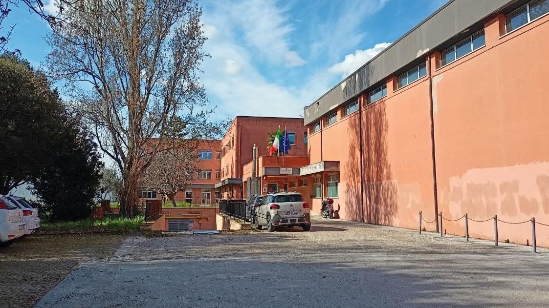 La sede della sezione magistrale del liceo Perticari di Senigallia