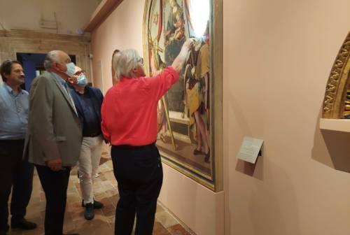 Perugino, il maestro di Raffaello: a Urbino inaugurata la mostra curata da Vittorio Sgarbi