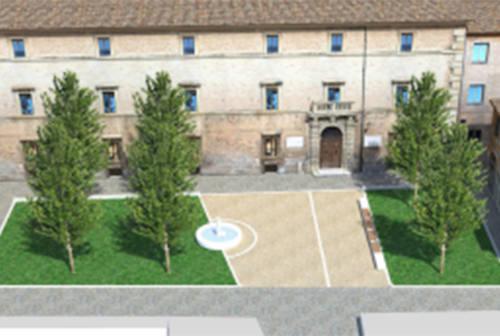 Fano, restyling totale per Piazza Marcolini: «Sarà il salotto buono della città» – FOTO