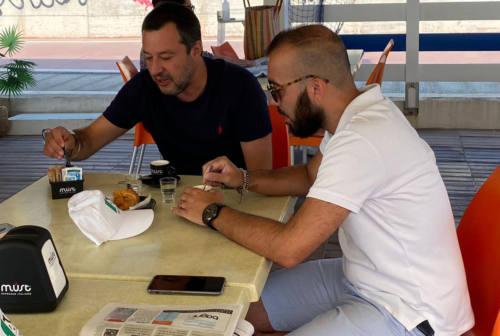 Carriera a colloquio con Salvini:  «Io Apro pronta alla battaglia contro il green pass nei locali»