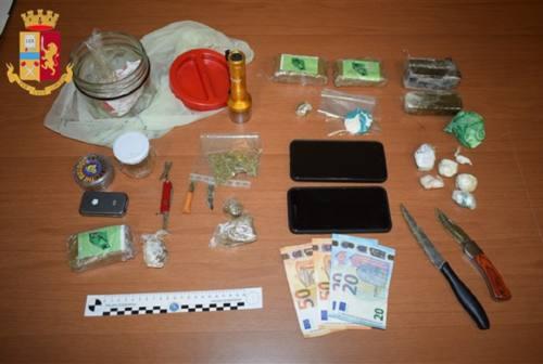 Ascoli, operazione antidroga della Polizia: arrestato 33enne