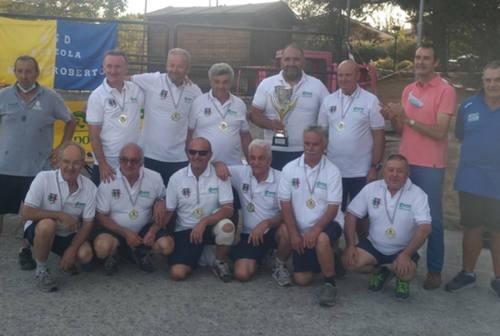 L'Asd ruzzola Mondolfo si laurea campione d'Italia 2021