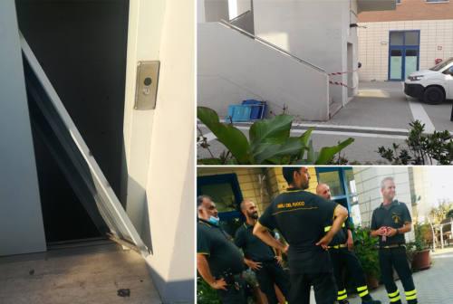 Ancona, ascensore di Collemarino distrutto a calci: preso il responsabile. «Ero arrabbiato»