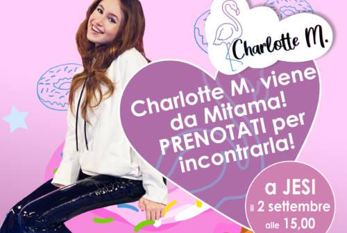 Charlotte M. per Mitama, che bella avventura! La famosa Youtuber incontra i fans a Jesi