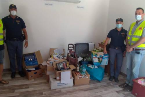 Fabriano: la merce rubata è stata donata all'Emporio della Carità della Caritas