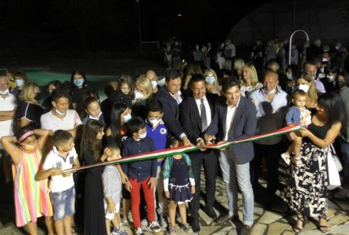 Pieve Torina, inaugurata la nuova piscina. «Un'oasi di normalità di fronte alla devastazione del sisma»