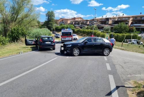 Osimo, doppio incidente nel giro di poche ore in via Flaminia I