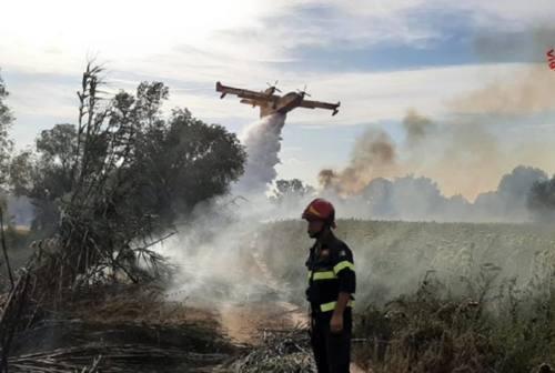 Raddoppiati gli incendi nelle Marche, nel 2021 sono andati in fumo 79 ettari