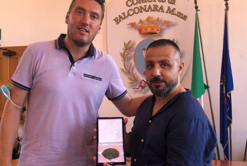 Una medaglia a Vincenzo Portelli, che ha portato il Città di Falconara ad un passo dallo scudetto